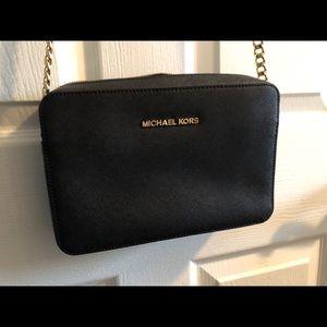 Michael Kors Jet Set Saffiano Leather Crossbody